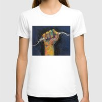 lightning T-shirts featuring Lightning by Michael Creese