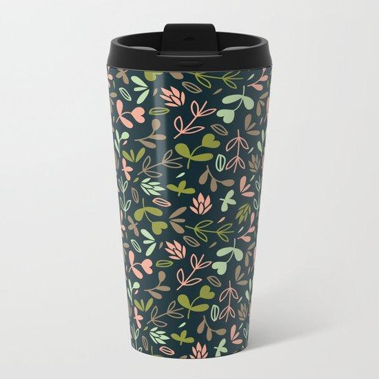 Colorful Lovely Pattern XVIV Metal Travel Mug