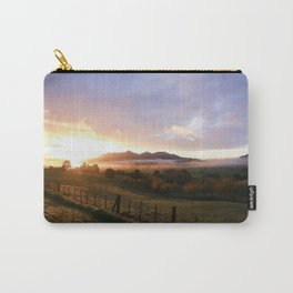 New Zealand Sunrise Carry-All Pouch