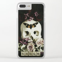SSDGM Clear iPhone Case