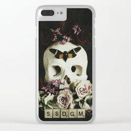 SSDGM Clear iPhone Case