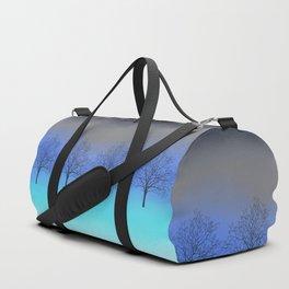 Abstract trees Duffle Bag