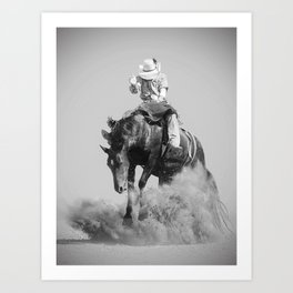 Rodeo Lifestyle Art Print