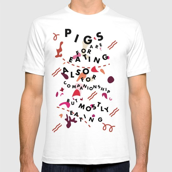 Pig Ate My Pizza T-shirt