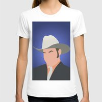 anchorman T-shirts featuring Champ Kind - Anchorman by Tom Storrer