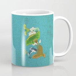 Minhwa: Lotus and Night Herons E Type  Coffee Mug