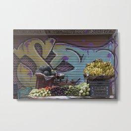 Graffiti Stand Metal Print