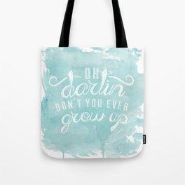 LYRICS - Don't you ever - color Tote Bag