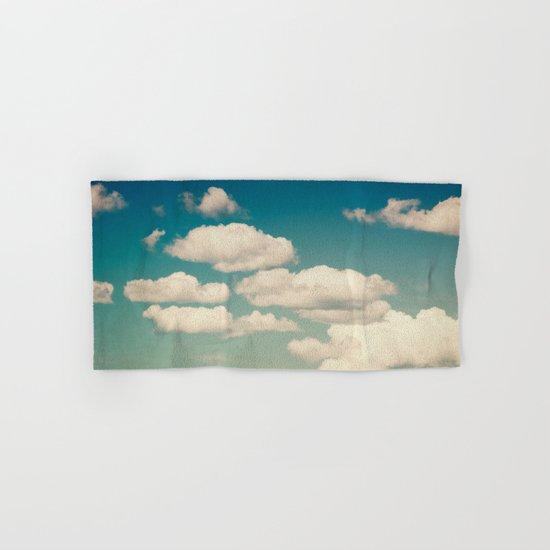 Aqua Sky Hand & Bath Towel