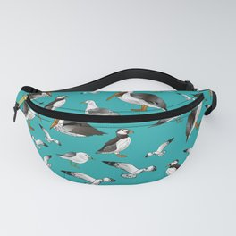 Puffins, Pelicans, and Seagulls Fanny Pack