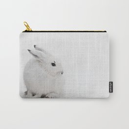 SNOW BUNNY  - ARCTIC HARE Carry-All Pouch