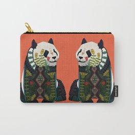 panda orange Carry-All Pouch