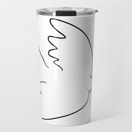 dove inspired from picasso Travel Mug