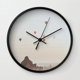 Bagan V Wall Clock