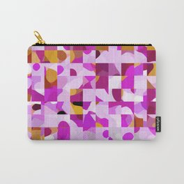 Crazy Squares Carry-All Pouch