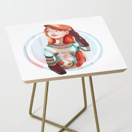 Full Breakfast Side Table