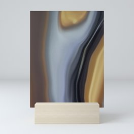 Earthy abstract 1 Mini Art Print