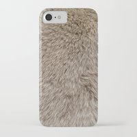 ferret iPhone & iPod Cases featuring Ferret Texture by Diego Tirigall