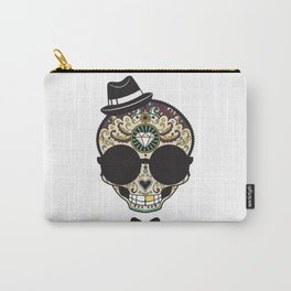 Blind Sugar Skull Carry-All Pouch