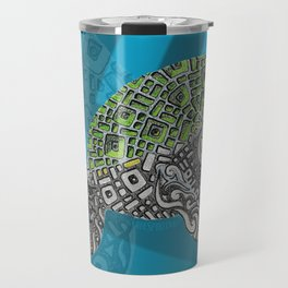 Manatee Totem Travel Mug