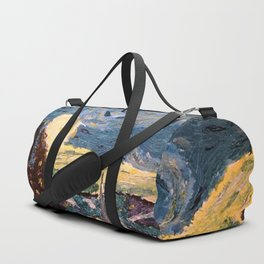 Starry Night Made With Nail Polish Duffle Bag