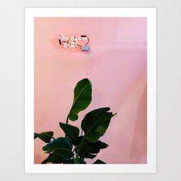 You Glow Girl Art Print