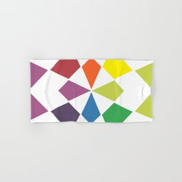 Rainbow block Hand & Bath Towel