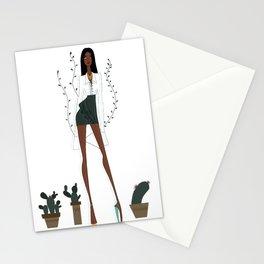 Tiwa inspired Fashion Illustration Stationery Cards