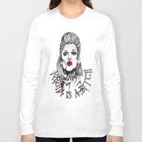 karma Long Sleeve T-shirts featuring Karma by Samantha J Creedon
