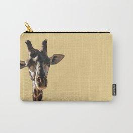 Giraffe Eyes Carry-All Pouch