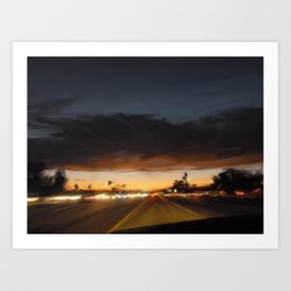 Commute Home Art Print