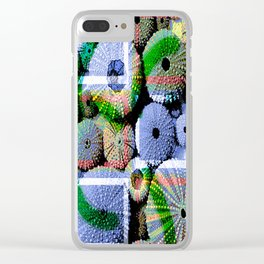 Urchins Clear iPhone Case
