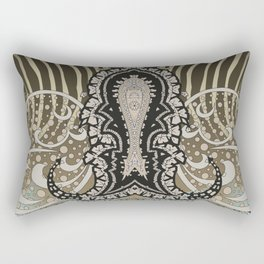 paisley animal Rectangular Pillow
