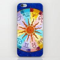 zodiac iPhone & iPod Skins featuring Zodiac by Sandra Nascimento
