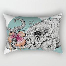 Flora Nautica Rectangular Pillow