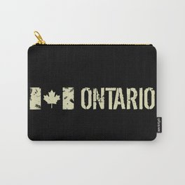 Canadian Flag: Ontario Carry-All Pouch
