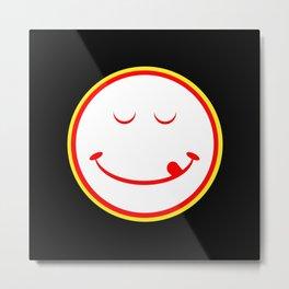 DgM MR SMILEY'S SOLO Metal Print