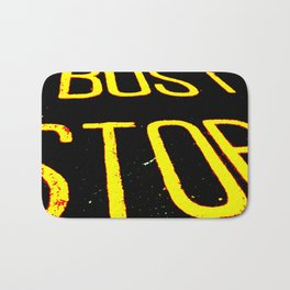 Bus Stop Bath Mat