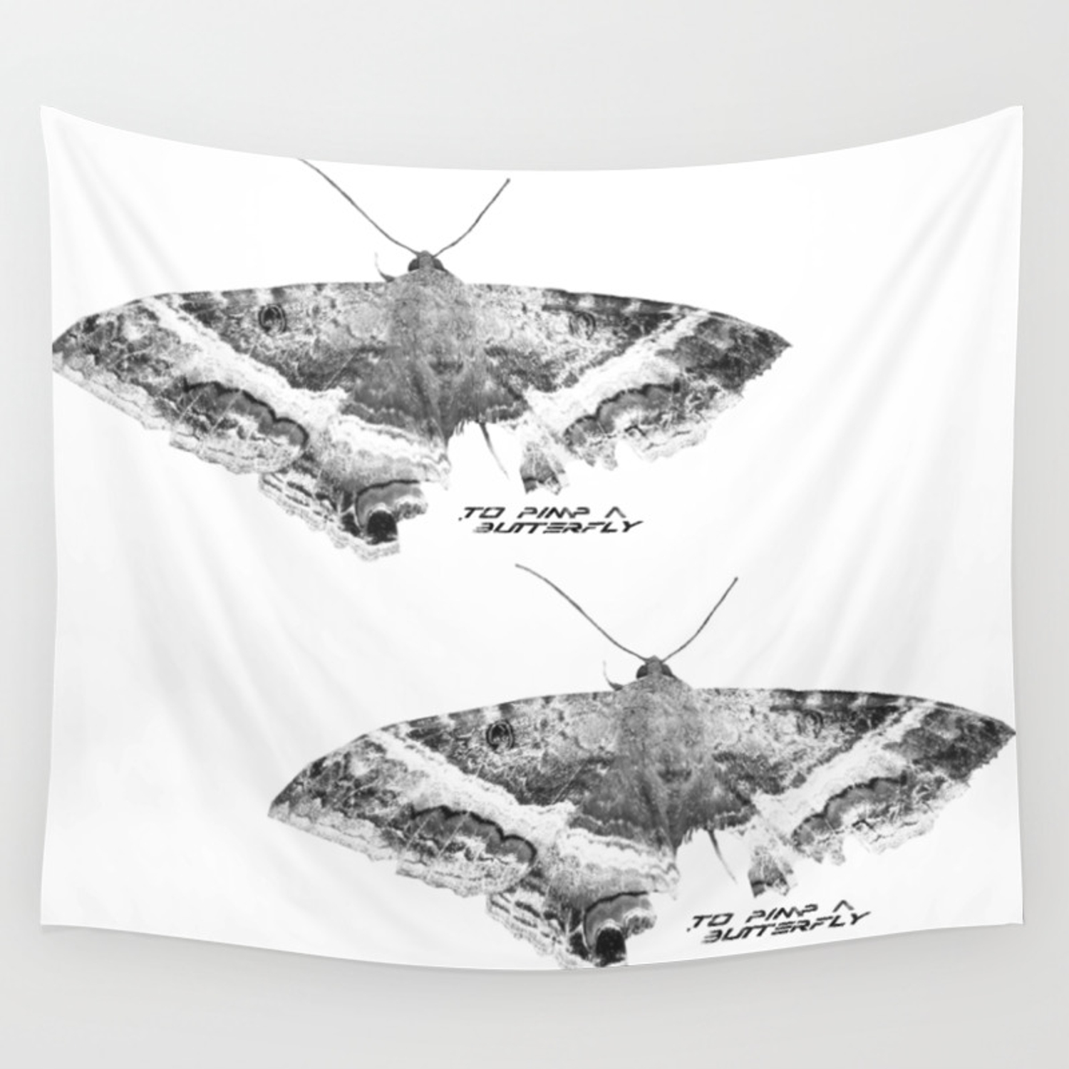 To Pimp A Butterfly Wall Tapestry By Dodosanz Society6