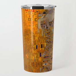 THE LADY IN GOLD BLOCH BAUER - GUSTAV KLIMT Travel Mug