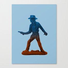 Toy Cowboy Canvas Print