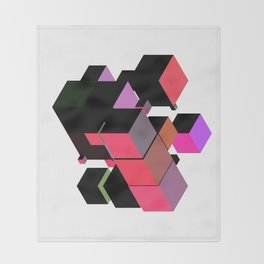 rubikkk Throw Blanket