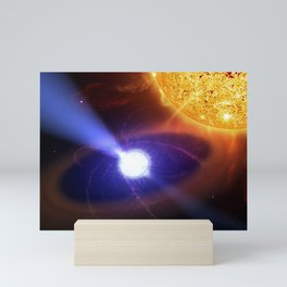 Casey Reed - White Dwarf Star in the AE Quarii System (2007) Mini Art Print