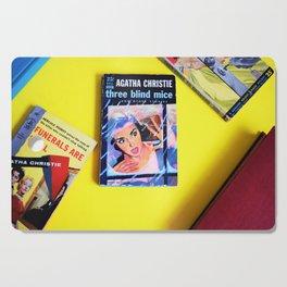Agatha Christie Three Blind Mice Cutting Board