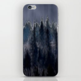 Forest blend iPhone Skin