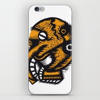 angel iPhone & iPod Skins featuring Angel by Stephane Eck