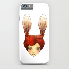 the girl with rabbit hair Slim Case iPhone 6s