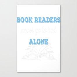 Book Reader Canvas Print