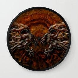 War Eagles Wall Clock