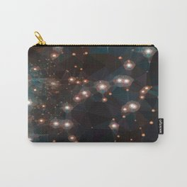 Galaxy Bedin I Low Poly Triangles Carry-All Pouch